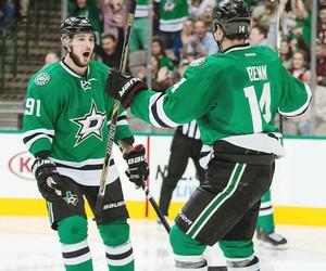 hockey, hotties, and dallas stars image