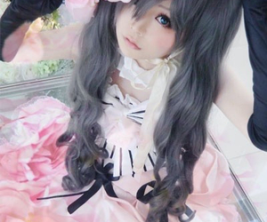 anime, lolita, and costume play image