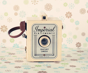camera, vintage, and cute image