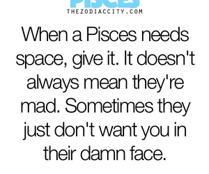 pisces, zodiac, and space image
