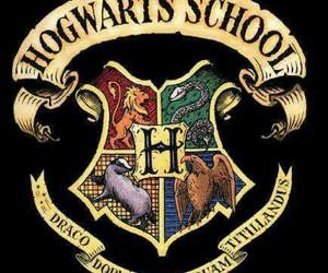 hogwarts, harry potter, and school image