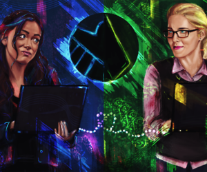 arrow and agents of shield image