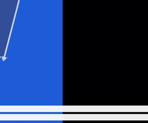 black, blue, and twitter image