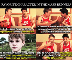 Minho, the maze runner, and chuck image