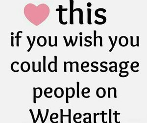 message and we heart it image