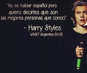 Harry Styles, argentina, and one direction image