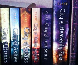 book, hunter, and the mortal instruments image