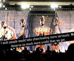 cheerleader, credit, and cheerlading image