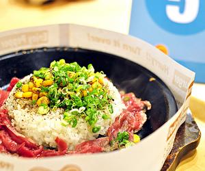 beef, food, and japanese food image