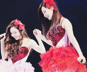 snsd, jessica jung, and yuri image