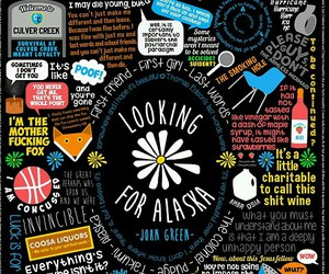 looking for alaska, book, and john green image