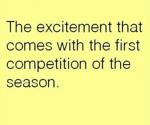 excitement, show choir, and competition season image