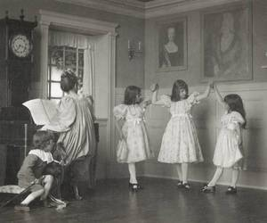 black and white, dance, and vintage image