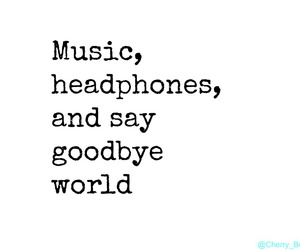 frases, headphones, and music image