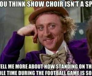sports, show choir, and show choir problem image