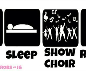 show choir and show choir is life image