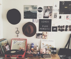 music, lorde, and vintage image