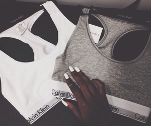 Calvin Klein and nails image