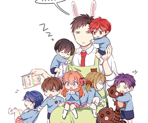 anime, gekkan shoujo nozaki-kun, and kawaii image