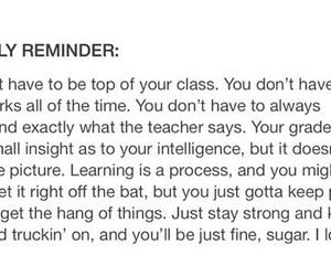 motivational, sad, and school image