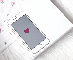 heart, technology, and iphone 6 image
