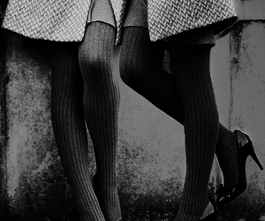 black and white, fashion, and photography image