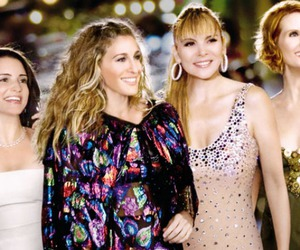 Carrie Bradshaw, sex and the city, and girls just wanna have fun image