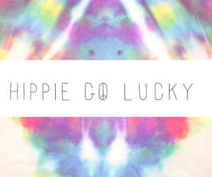 happy, hippie, and lucky image