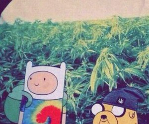 marijuana and adventure time image