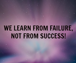 quotes, success, and failure image