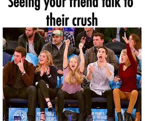 friends, crush, and funny image