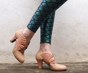 clothes, mermaid, and scales image