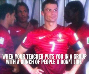 funny, Ronaldo, and cristiano ronaldo image