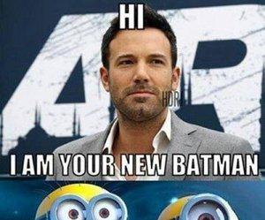 minions, funny, and batman image