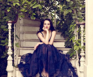 beauty, jessica brown findlay, and gown image