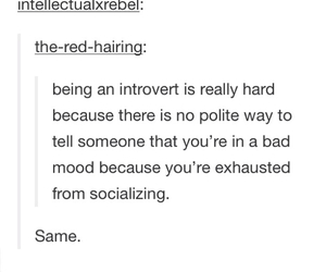 alone, help, and introvert image