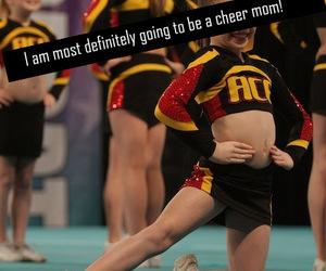 cheer, cheerleader, and mom image