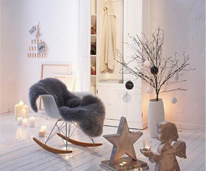 room, candle, and cozy image