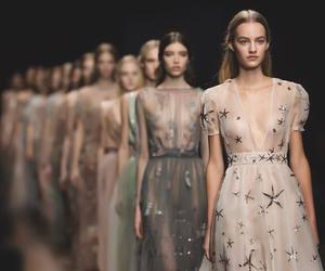Valentino, fashion, and models image