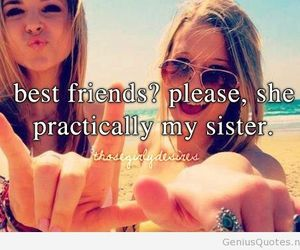best friend, love her, and sister image
