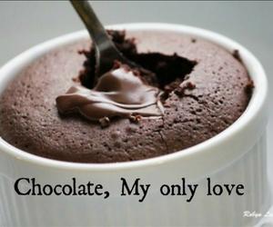 chocolate, food, and love image