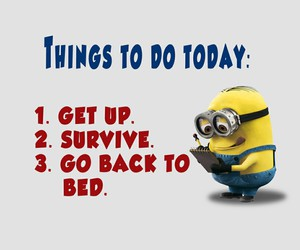 minions, survive, and funny image
