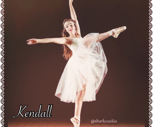dance, kendall vertes, and dance moms image