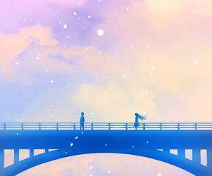 bridge and couple image