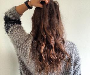 girl, hair, and girl fashion winter image