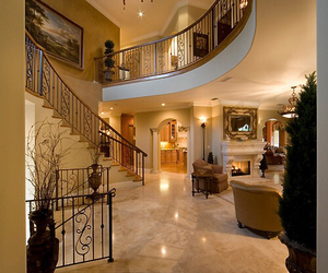 interior, house, and luxury image