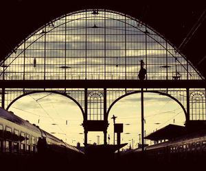 train, budapest, and morning image