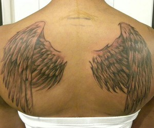 angel wing and tatoo image