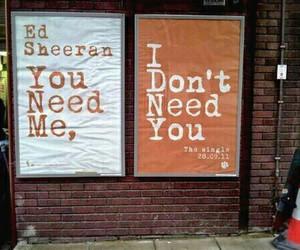 ed sheeran, Lyrics, and song image