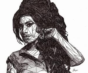 Amy Winehouse, art, and music image
